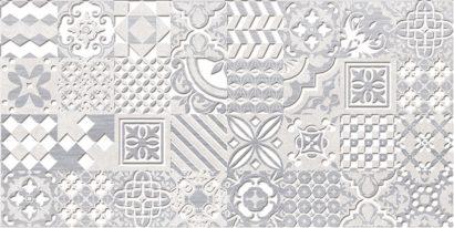Керамическая плитка Bastion Декор серый 08-03-06-454 20х40