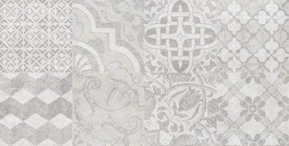 Керамическая плитка Bastion Плитка настенная мозаика серый 08-00-06-453 20х40