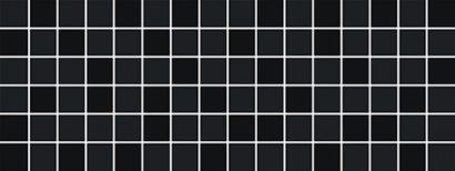 Керамическая плитка Бельканто Декор мозаичный черный 171 15078 15х40