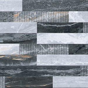 Керамогранит Bergamo Декор 3D Микс Холодная гамма K946622LPR 30х60