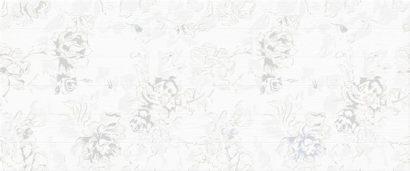 Керамическая плитка Bianca white Декор 01 25х60