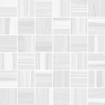 Керамическая плитка Blackwood Мозаика белый 30х30