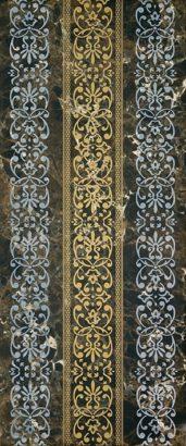 Керамическая плитка Bohemia brown 01 Декор 25х60