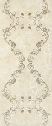 Керамическая плитка Bohemia brown 03 Декор 25х60