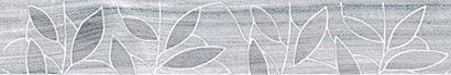 Керамическая плитка Bona Бордюр тёмно-серый 66-03-06-1344 6