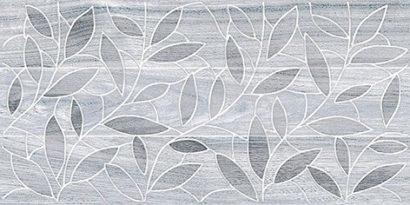 Керамическая плитка Bona Декор тёмно-серый 08-03-06-1344-4 20х40