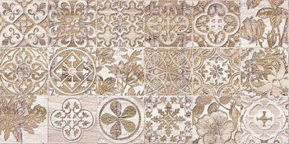 Керамическая плитка Bona If Декор тёмно-бежевый 08-05-11-1344-6 20х40