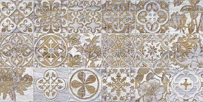 Керамическая плитка Bona If Декор тёмно-серый 08-05-06-1344-6 20х40