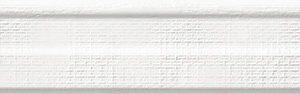 Керамическая плитка Бордюр VIANA Galena Snow Moldura 5x40