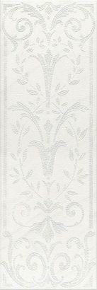 Керамическая плитка Борсари Декор орнамент обрезной HGD A126 12103R 25х75