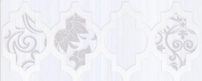 Керамическая плитка Buhara Бордюр серый 10х25