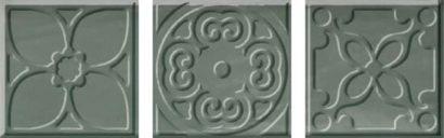 Керамическая плитка Bulevar Altair Jade Taco Вставка 100x100 мм 48