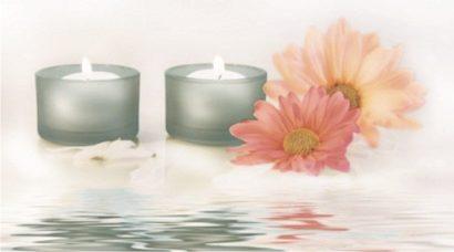 Керамическая плитка Candles 4 Декор 25х45