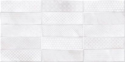 Керамическая плитка Carly облицовочная плитка рельеф кирпичи декорированная светло-серый (CSL524D) 29