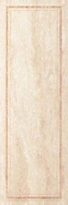 Керамическая плитка Cassinia Beige Frame Плитка настенная структ.рект 250х750 мм 31