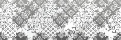 Керамическая плитка Cassiopea Fancy Декор серый 20х60