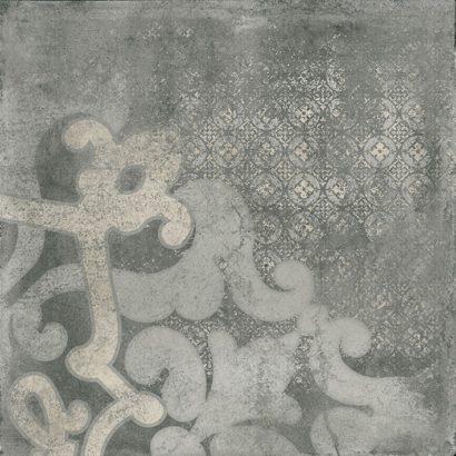 Керамогранит Cemento Декор G-901 MR d01 60x60 темно-серый