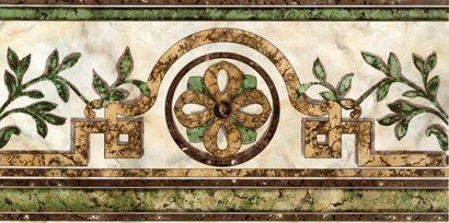 Керамическая плитка Cen Losanga Roma Beige Бордюр 22