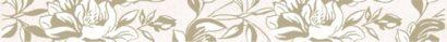 Керамическая плитка Chantal бордюр бежевый (CN1J011) 5x44