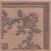 Керамическая плитка Честер Вставка коричневый STG F252 3418 14