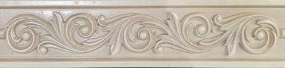Керамическая плитка Classic beige Бордюр 02 6х25