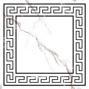 Керамогранит Classic Marble Декор Белый G-270 G d01 40x40