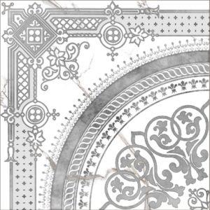 Керамогранит Classic Marble Декор Белый G-270 G d02 40x40