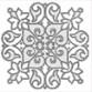 Керамогранит Classic Marble Тако Белый G-270 G t02 7x7