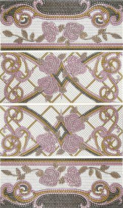 Керамическая плитка Columna Baikal Lila Панно (из 4х пл) 100х60