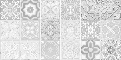 Керамическая плитка Concrete Module Декор серый 30х60