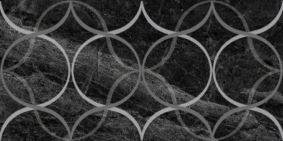 Керамическая плитка Crystal Resonanse Декор чёрный 30х60