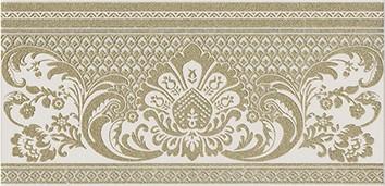 Керамическая плитка Даниэли Бордюр бежевый обрезной HGD A103 11109R  30х14