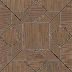 Керамогранит Дартмут Декор мозаичный коричневый SG175 003 20х20