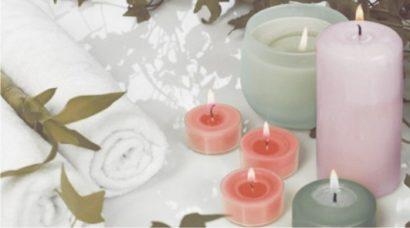 Керамическая плитка Dec Candles 1 Декор КВС16Candles1 25х45