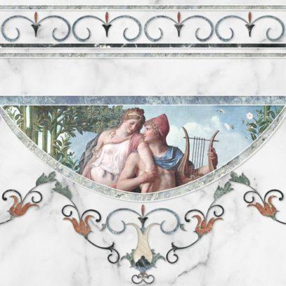 Керамическая плитка Dec Cenefa Louvre B 45х45