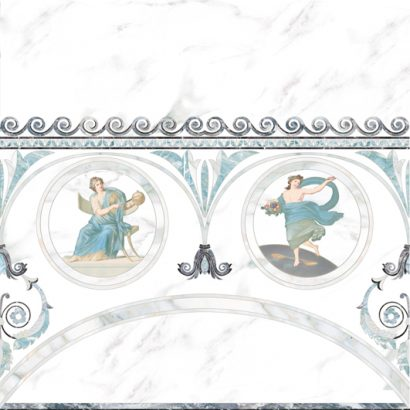 Керамическая плитка Dec Cеnefa musa Декор 45х45 4шт