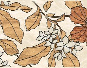 Керамическая плитка Dec Dube Beige Декор 20х50