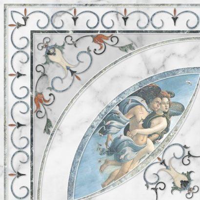 Керамическая плитка Dec Esquina Louvre 45х45