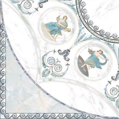 Керамическая плитка Dec Esquina musa Декор 45х45 4шт