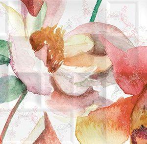 Керамическая плитка Dec Florance Panno A КПН16FloranceA  25х45