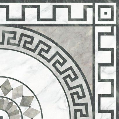 Керамическая плитка Dec Gorgona Esquina Декор 45х45