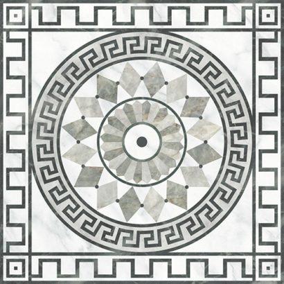 Керамическая плитка Dec Medusa Декор 45х45