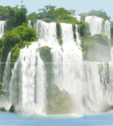 Керамическая плитка Dec Niagara A Panno (панно из 2-х шт) КПН16NiagaraA 50х45