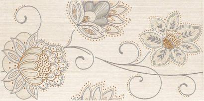 Керамическая плитка Dec Puntilla Beige Декор 20х50