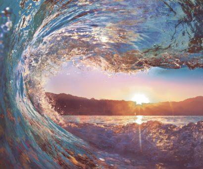 Керамическая плитка Dec Surf Panno (панно из 6-х шт) КПН16Surf 75х90