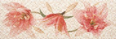Керамическая плитка Dec. Lilium Warm Декор 117404 25х75