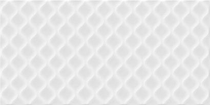 Керамическая плитка Deco облицовочная плитка рельеф белый (DEL052D) 29
