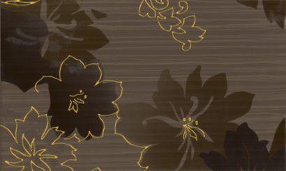Керамическая плитка Delicate Декор Brown inserto B 30x50