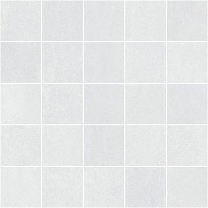 Керамическая плитка Depo Декор мозаичный белый MM34041 25х25