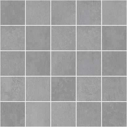 Керамическая плитка Depo Декор мозаичный серый MM34042 25х25